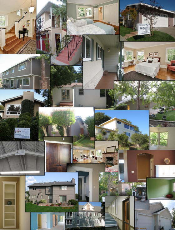 At Bay Painters We provide Our Painting services to San Francisco Bay Area CA Bay Area  including Following Locations:City and County  Of San Francisco.San Mateo County including following locations:Atherton, Belmont, Brisbane, Burlingame, Colma, Daly City, East Palo Alto, Foster City, Half Moon Bay, Hillsborough, Menlo Park, Millbrae, Pacifica, Portola Valley, Redwood City, San Bruno, San Carlos, San Mateo, South San Francisco, WoodsideMarin County including following locations:Belvedere, Bolinas, Corte Madera, Dillon Beach, Dogtown, Fairfax, Inverness, Inverness Park, Kentfield, Lagunitas-Forest Knolls, Larkspur , Marshall, Mill Valley, Muir Beach, Nicasio, Novato, Olema, Point Reyes Station, Ross, San Anselmo, San Geronimo, San Rafael, Sausalit, Stinson Beach, Tiburon, Tomales, WoodacreAlameda County including following locations:Alameda, Albany, Ashland, Berkeley, Castro Valley, Cherryland, Dublin, Emeryville, Fairview, Fremont, Hayward, Livermore, Newark, Oakland, Piedmont, Pleasanton, San Leandro, San Lorenzo, Sunol, Union City Contra Costa County including following locations:Antioch, Brentwood, Clayton, Concord,  Danville, El Cerrito, Hercules, Lafayette, Martinez, Moraga, Oakley, Orinda,  Pleasant, Hill Pinole, Richmond, Pittsburg, San Pablo, San Ramon, Walnut Creek and all other locations in Contra Costa County.Santa Clara County including following locations:Campbell, Cupertino, Gilroy, Los Altos, Los Altos Hills, Los Gatos, Milpitas, Monte Sereno, Morgan Hill, Mountain View, Palo Alto, San Jose, Alum Rock,, Cambrian Park,, Willow Glen,, East San Jose, and, Alviso, Santa Clara, Saratoga, SunnyvaleSolano County including following locations:Benicia, Dixon, Fairfield, Rio Vista, Suisun City, Vacaville, Vallejo ,Key Words,interior painting,exterior painting,painting contractor,painting companies,painting services,wallpaper removal,wall painting,wall covering,commercial painting,residential painting,stucoo painting,deck staining,power washing,painting staining,carpentry,house painters,home painting,renovation,plastering,drywall repair,inside painting,outside painting,pressure washing,gutter cleaning
